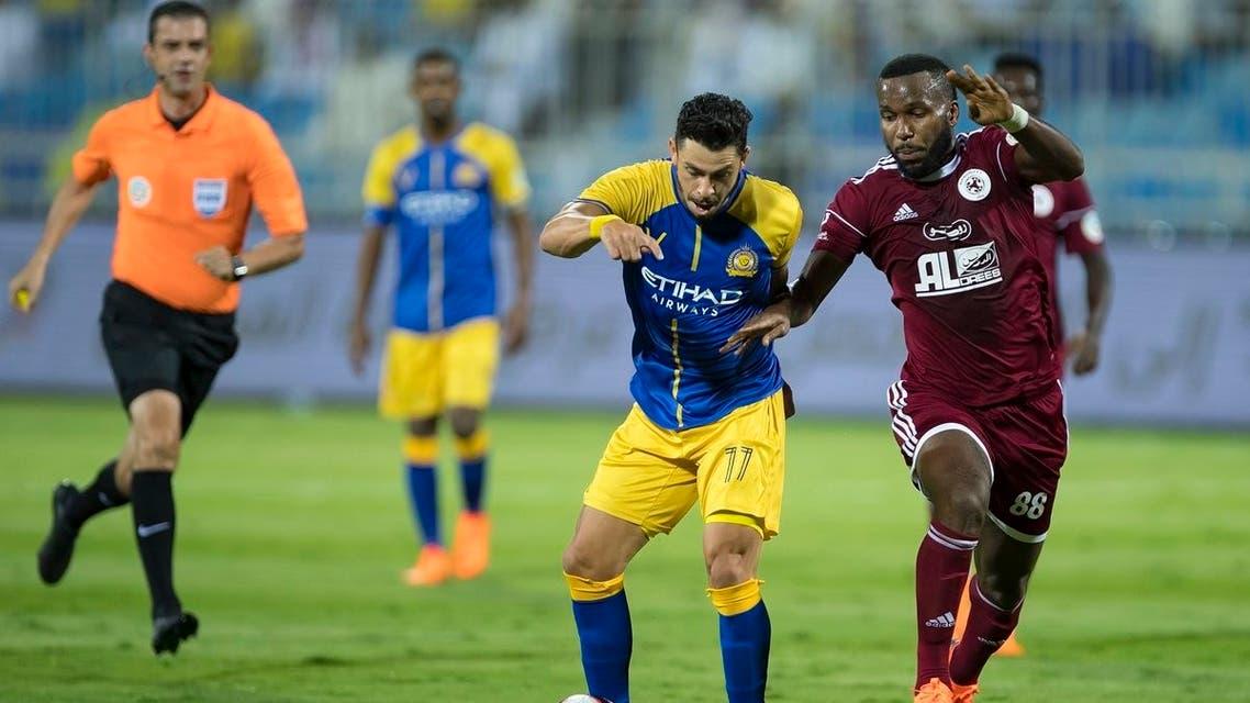 """موعد مباراة الفيصلي والنصر في الدوري السعودي """"2020-2021 ..."""