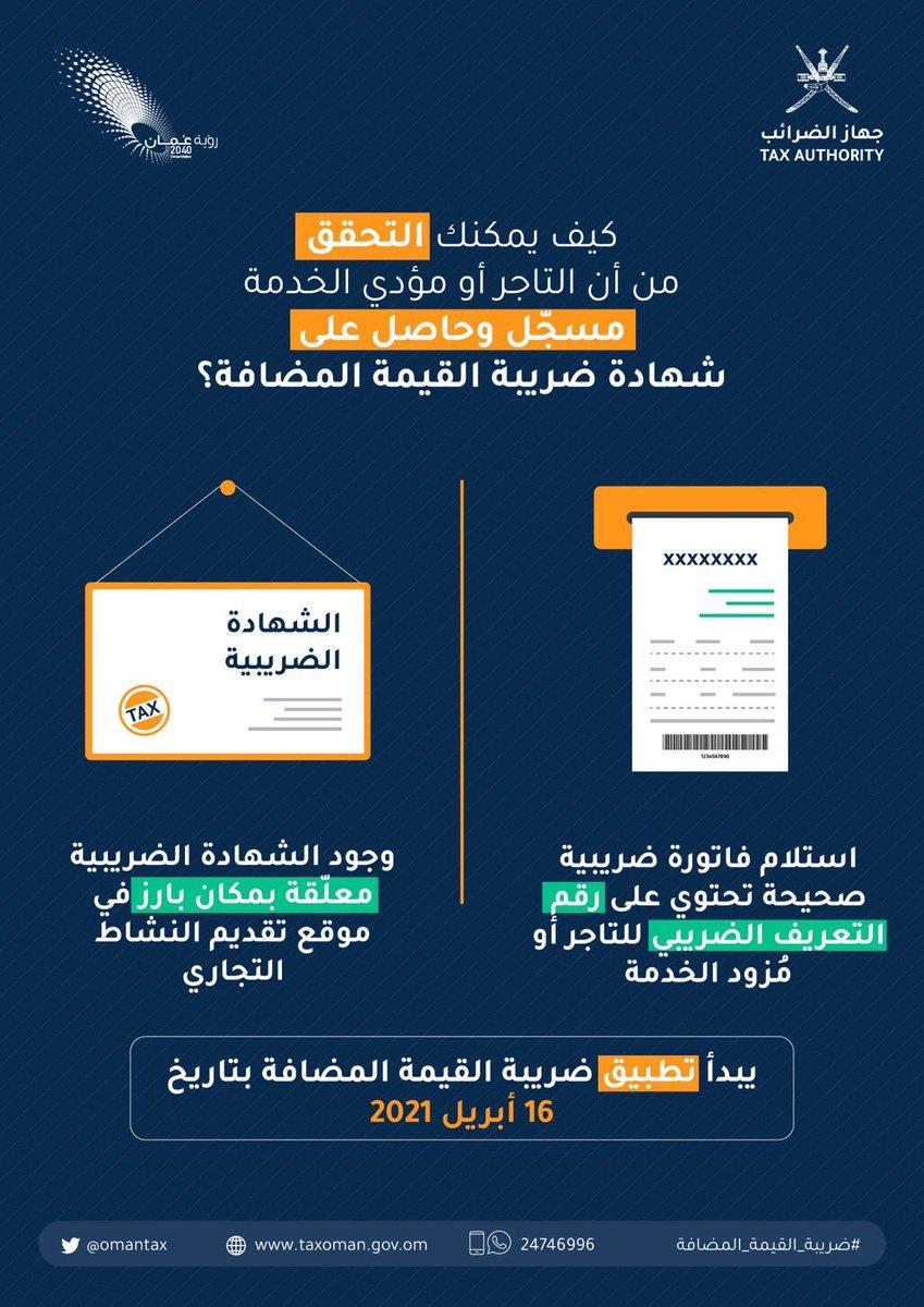 التحقق من التسجيل في ضريبة القيمة المضافة 2021