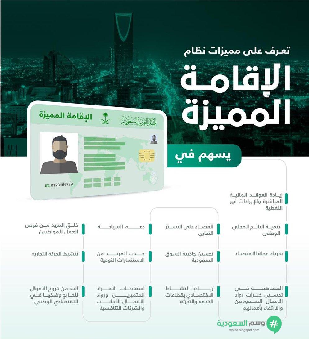 شروط الإقامة الدائمة والمؤقتة بالسعودية