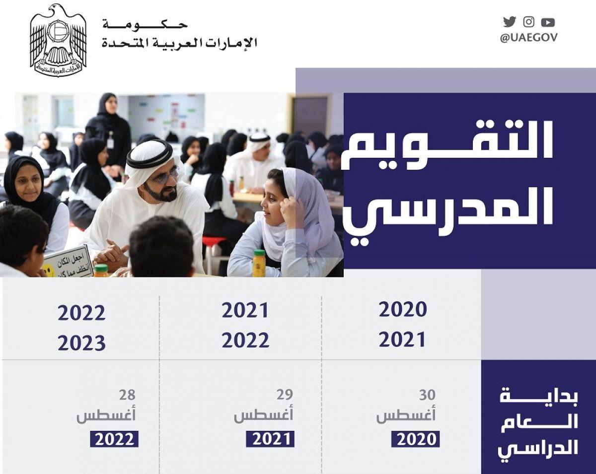 متى يبدأ العام الدراسي الجديد 2021/2022 في الإمارات
